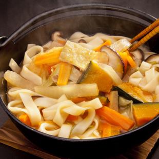 上州の郷土料理 おっきりこみ