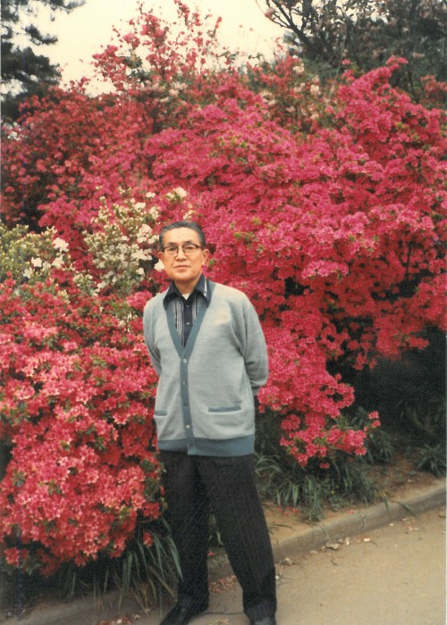 花山うどん 平成初期_三代目橋田正雄