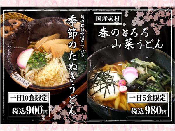 20160318春たぬきと山菜