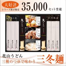 三種のつゆで味わう三冬麺(SS-30)