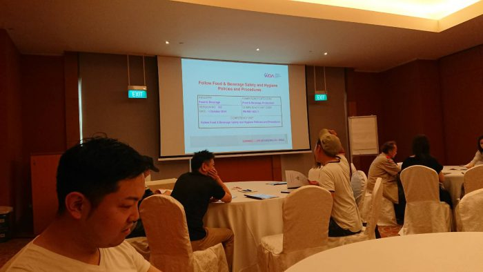 シンガポール 衛生講習