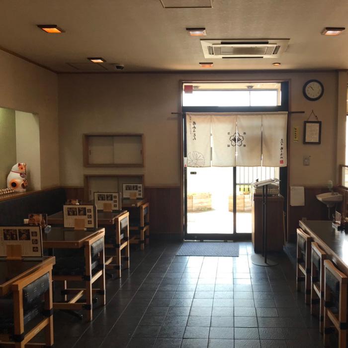 花山うどん本店お食事処 リニューアル前1