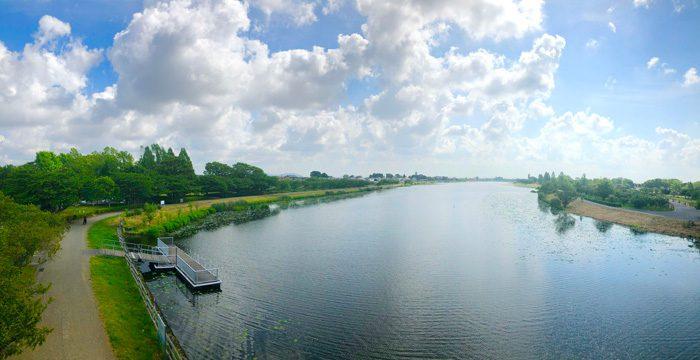館林市の里沼 日本遺産 城沼