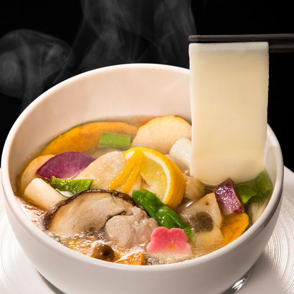 上州赤城鶏の柚子塩おっきりこみ