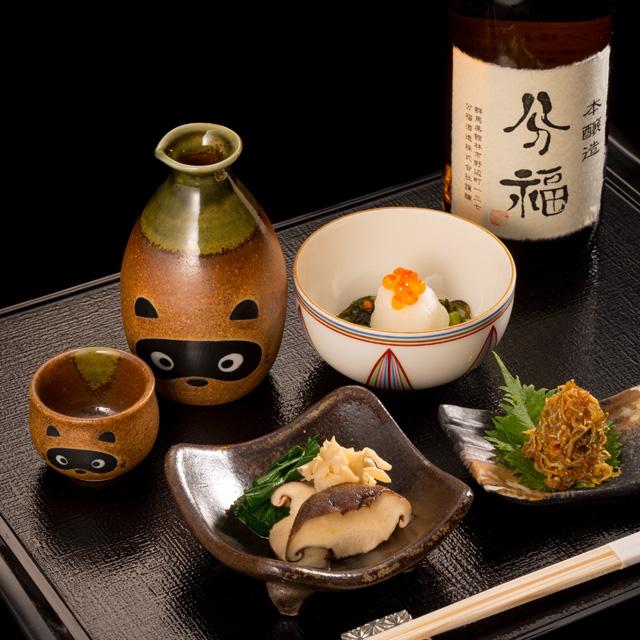 銀座店 お酒と小鉢料理(お通し)のイメージ