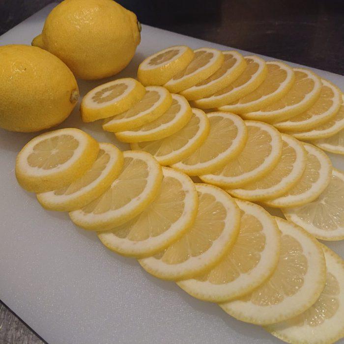 スライスレモン