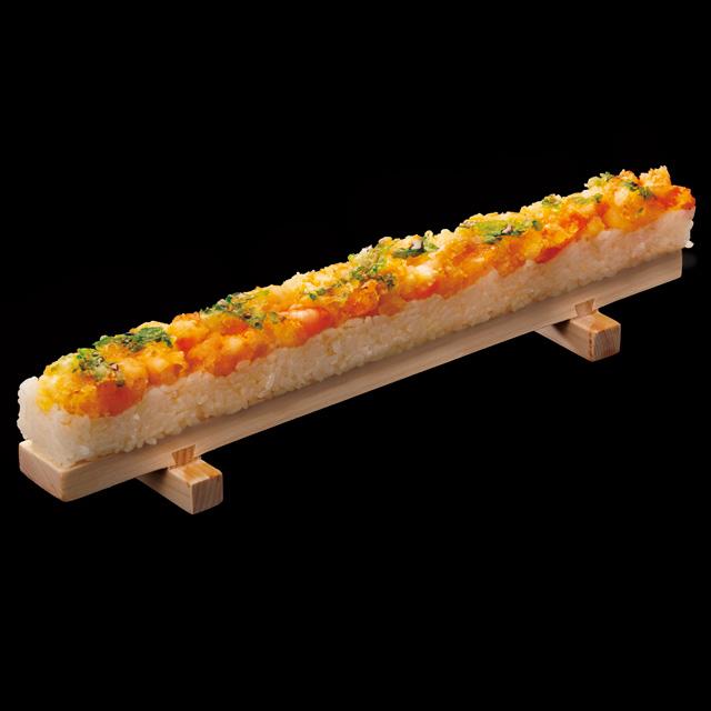 海老天の押し寿司