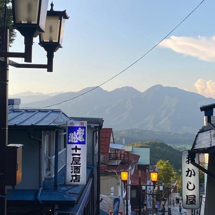 伊香保石段街の風景